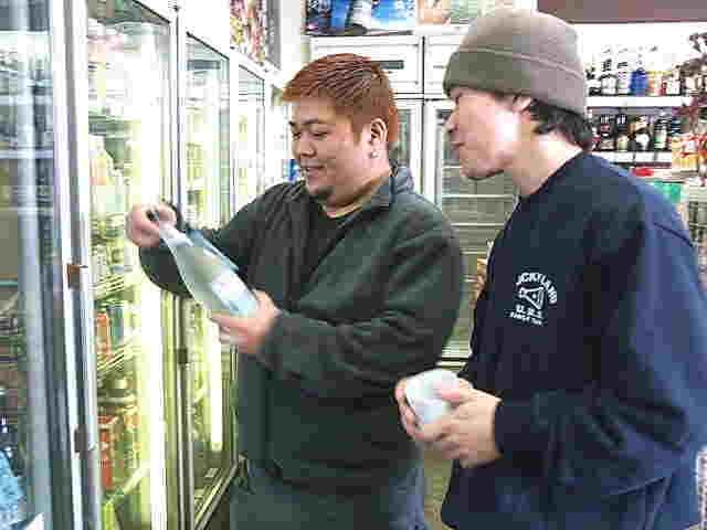 日本酒専用リーチイン